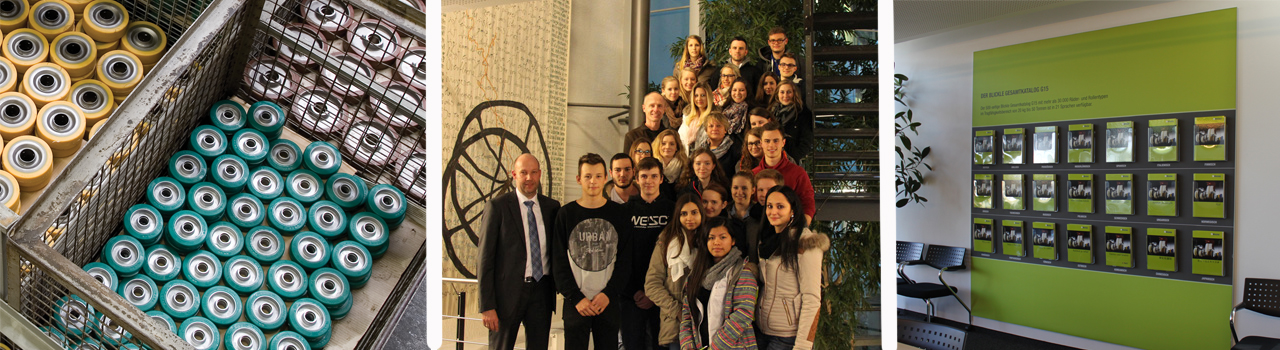 Student visit, commercial high school Rottweil